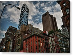 Acrylic Print featuring the photograph Nyc - Tribeca 002 by Lance Vaughn