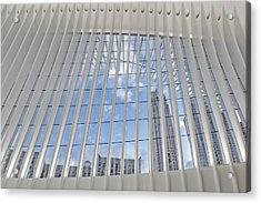 Nyc View From Wtc Oculus Acrylic Print
