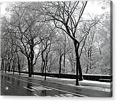 Nyc Winter Wonderland Acrylic Print