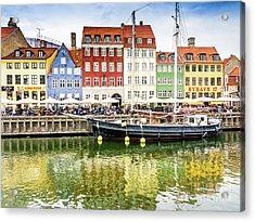 Nyhavn, Copenhagen Acrylic Print