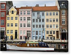 Nyhavn Pastels Acrylic Print