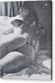 Nymph Acrylic Print by Desimir Rodic