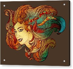 Nymph Acrylic Print by Irina Effa