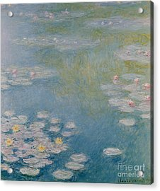 Nympheas At Giverny Acrylic Print by Claude Monet