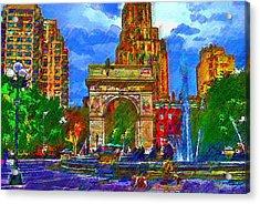 NYU Acrylic Print