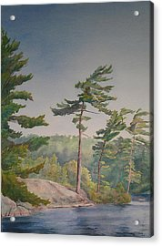 O Canada No.1 Acrylic Print by Debbie Homewood