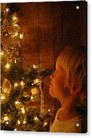 O Christmas Tree Acrylic Print by Deena Keller