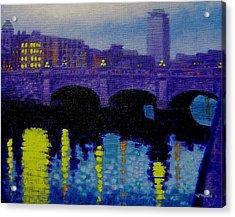 O Connell Bridge - Dublin Acrylic Print