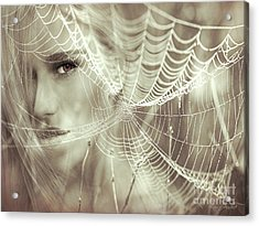O, What A Tangled Web We Weave When First We Practise To Deceive Acrylic Print