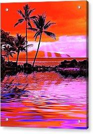Oahu Island Acrylic Print