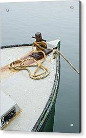 Oak Bluffs Fishing Boat Acrylic Print