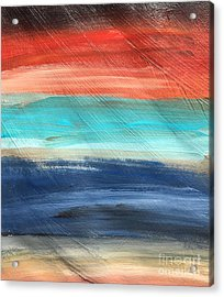 Oak Creek #27 Southwest Landscape Original Fine Art Acrylic On Canvas Acrylic Print