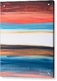 Oak Creek #29 Southwest Landscape Original Fine Art Acrylic On Canvas Acrylic Print