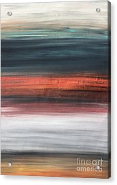 Oak Creek #30 Southwest Landscape Original Fine Art Acrylic On Canvas Acrylic Print