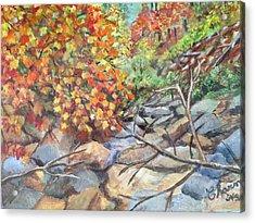 Oak Creek Canyon Acrylic Print