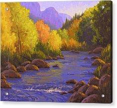 Oak Creek Color Show Acrylic Print by Cody DeLong