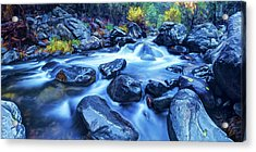 Acrylic Print featuring the photograph Oak Creek Flow by ABeautifulSky Photography