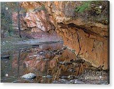 Oak Creek Reflections - Sedona, Az Acrylic Print
