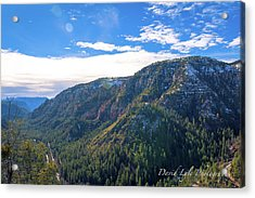 Oak Creek Vista Acrylic Print