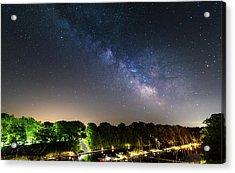 Oak Orchard Milky Way Acrylic Print