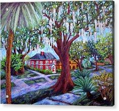 Oak Street Acrylic Print