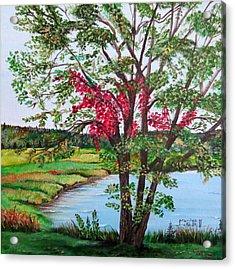 Oak Tree Standing Acrylic Print
