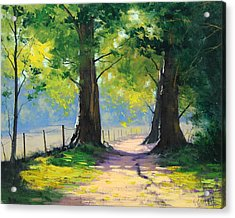 Oak Tree Trail Acrylic Print