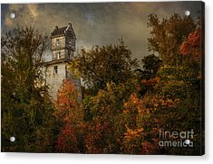 Oakhurst Water Tower Acrylic Print
