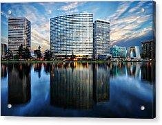 Oakland, California Cityscape Acrylic Print