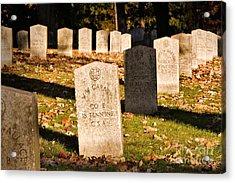 Oakland Cemetery Atlanta Acrylic Print