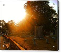 Oakland Cemetery In Atlanta Acrylic Print by Utopia Concepts