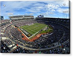 Oakland Raiders O.co Coliseum Acrylic Print