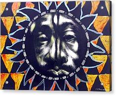 Oakland Sunshine Acrylic Print by Chester Elmore