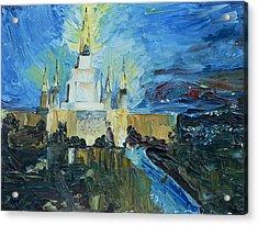 Oakland Temple Acrylic Print