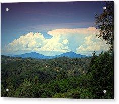 Oakrun Thunderstorm Acrylic Print