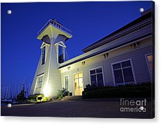 Oakville Lighthouse Acrylic Print by Charline Xia