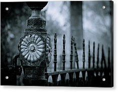 Acrylic Print featuring the photograph Oakwood Cemetery by Linda Unger