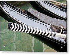 Oar Gondola Venice Acrylic Print
