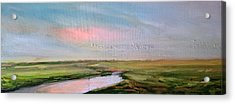 Oare Creek Spring 5 Acrylic Print by Paul Mitchell