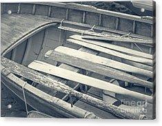 Oars Acrylic Print