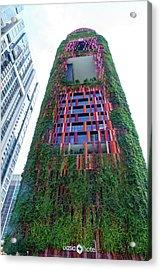 Oasia Hotel Downtown Singapore Acrylic Print