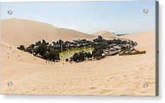 Oasis De Huacachina Acrylic Print