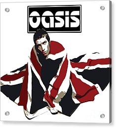 Oasis No.01 Acrylic Print by Caio Caldas