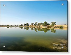 Acrylic Print featuring the photograph Oasis by Yew Kwang