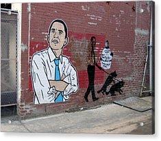 Obama Pride Acrylic Print by Sean Owens