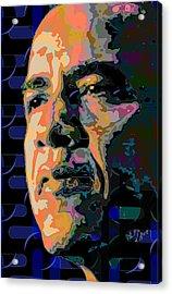 Obama Acrylic Print by Scott Davis