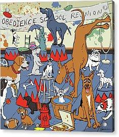 Obedience School Reunion Acrylic Print