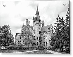Oberlin College Peters Hall Acrylic Print by University Icons