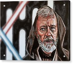Obi-wan Kenobi's Last Stand Acrylic Print