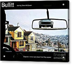 Objects In Mirror Are Closer Than They Appear, Buillitt, Steve Mcqueen Acrylic Print